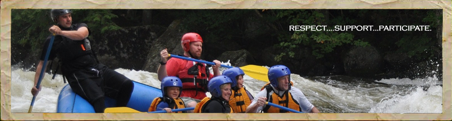 Family Adventure and Travel - Guided white water rafting